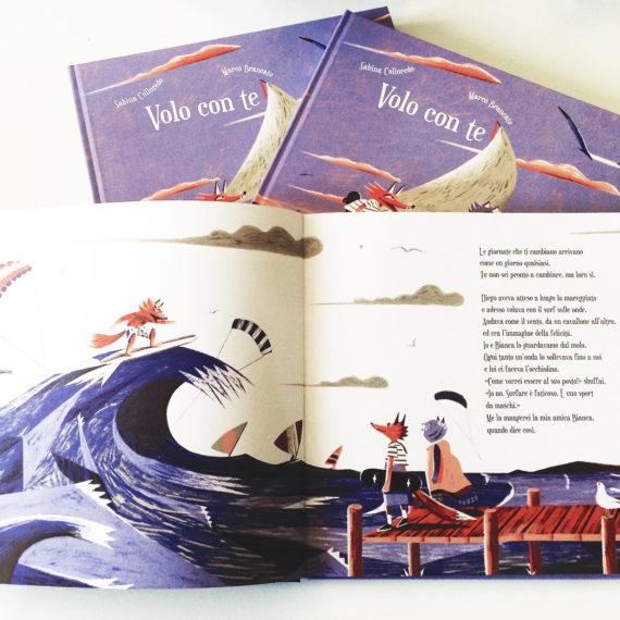 Insieme per ... Volo con Te, libro progetto con Carthusia Edizioni, è un percorso di consapevolezza